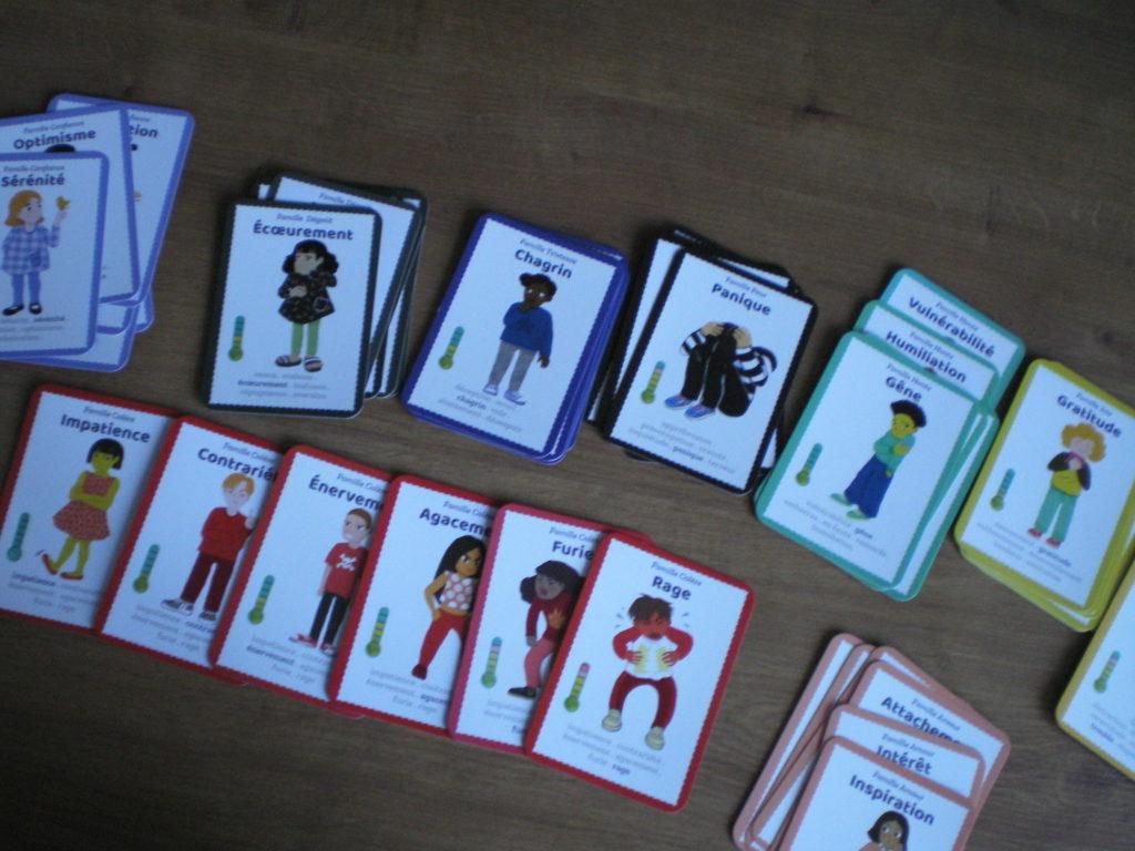 jeu cartes émotions famille enfants