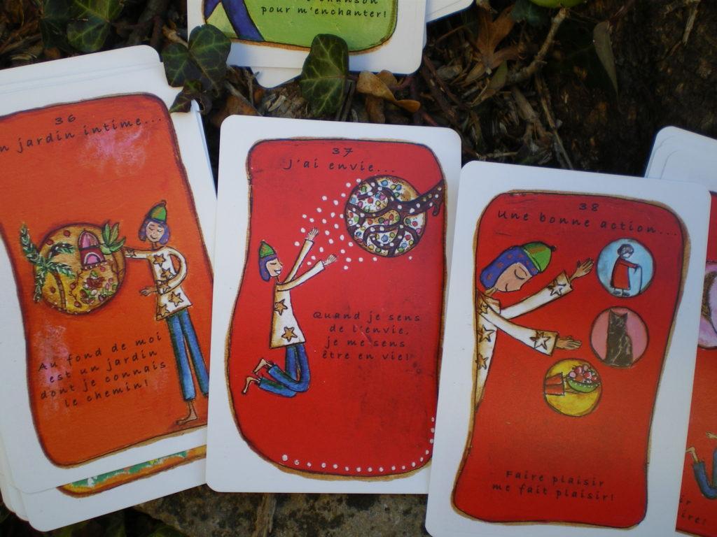 jeu de cartes expression émotions enfants