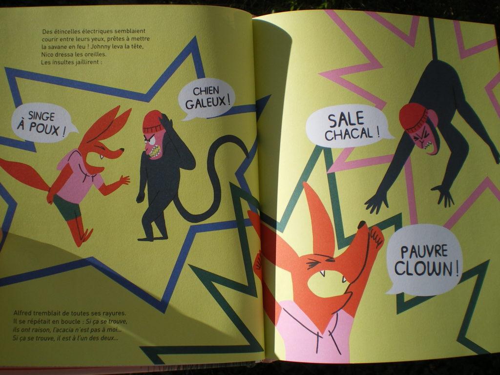 livre communication non violente et bagarre pour enfants