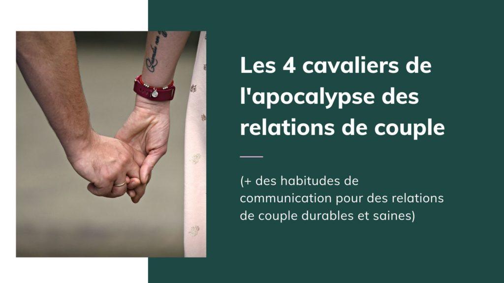 relations de couple durables et saines