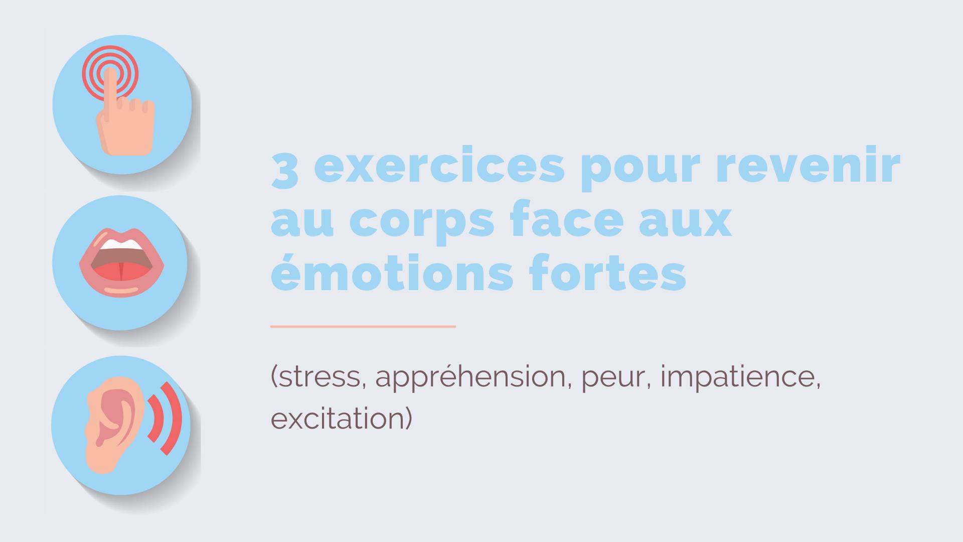 exercices émotions fortes enfants