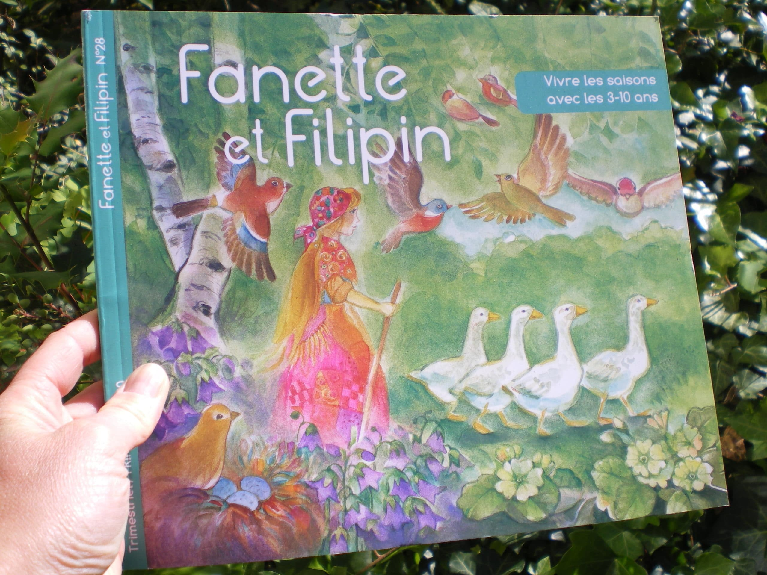 fanette et filipin magazine de printemps