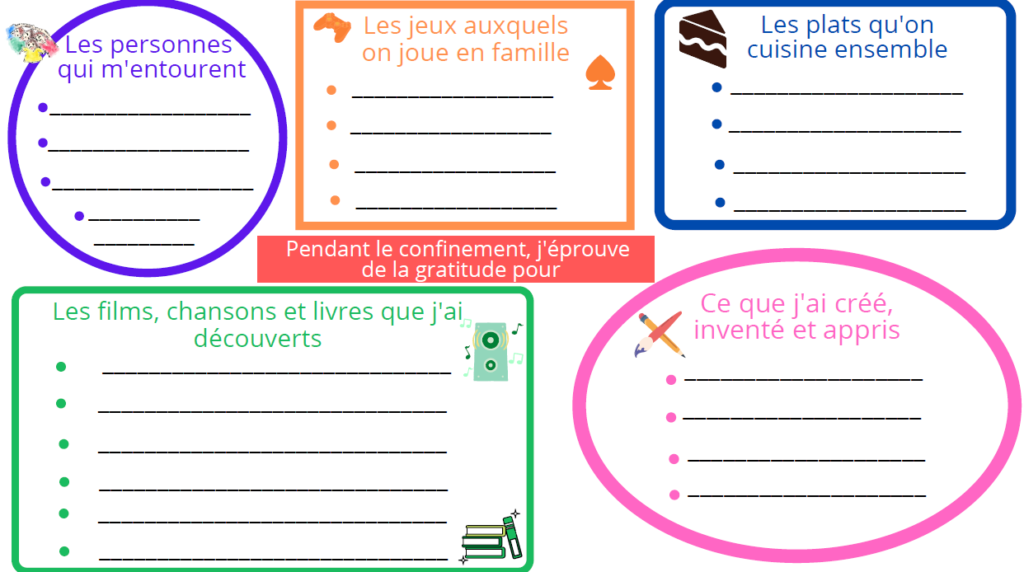 journal de confinement enfants