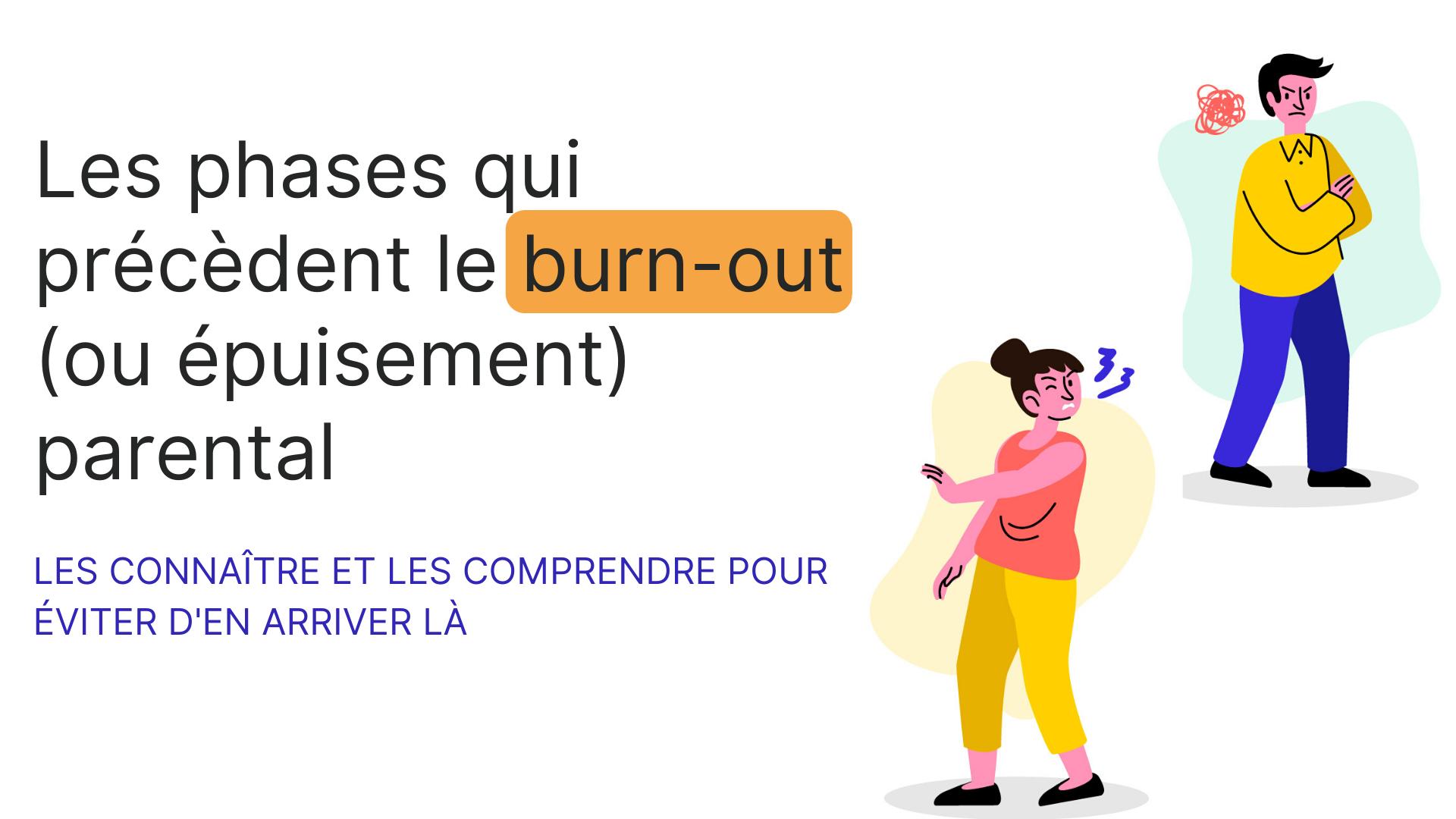étapes précèdent-burn-out-parental