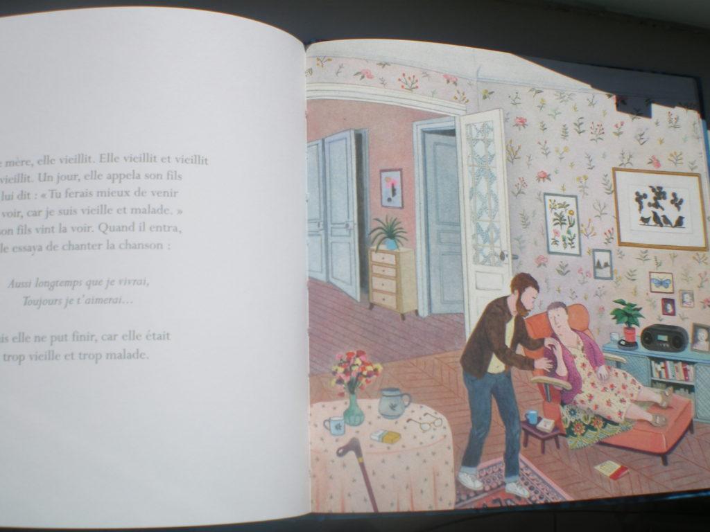 album pour enfants sur l'amour d'une mère