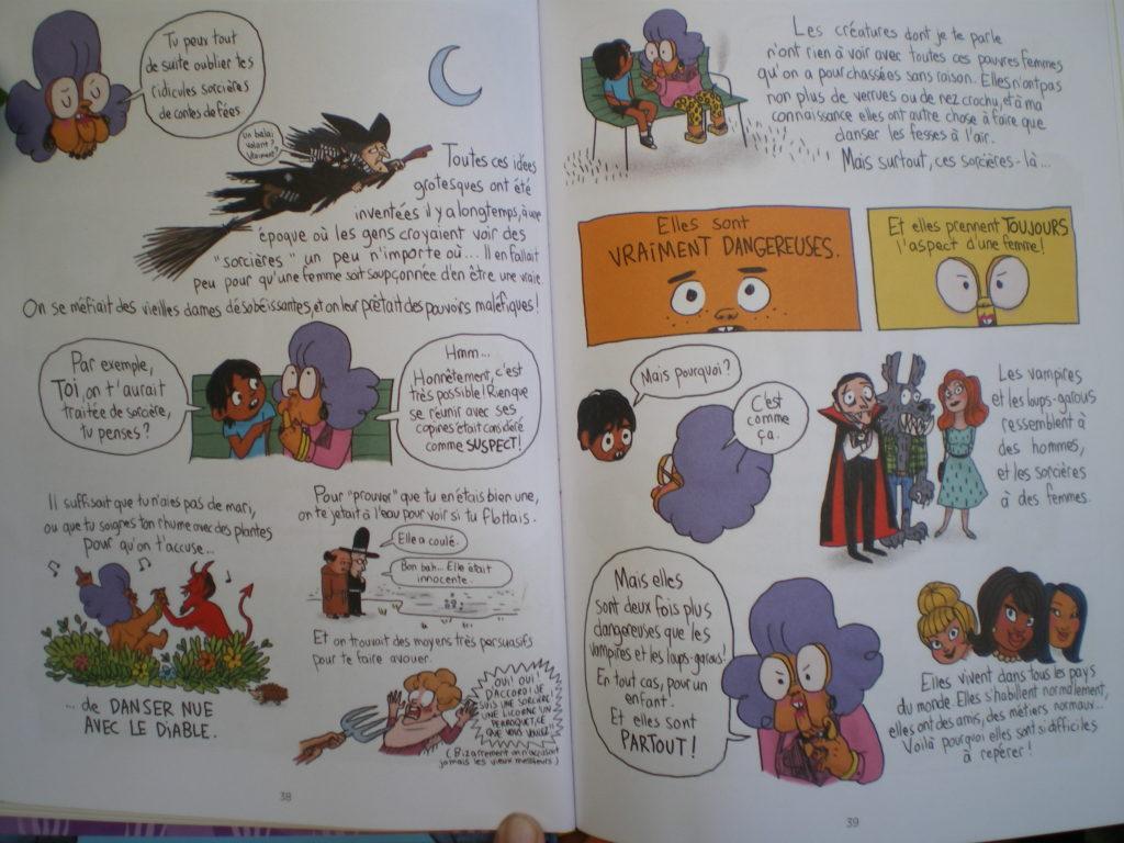 bande dessinée sacrées sorcières pénélope bagieu