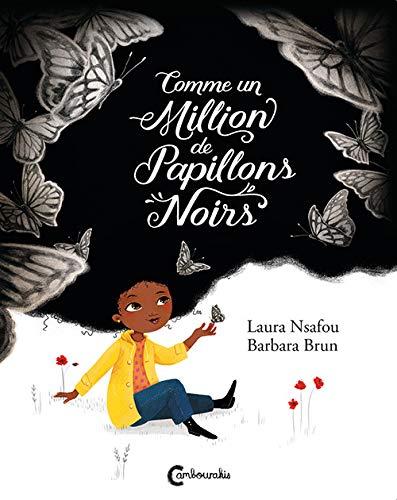 livre enfant diversité comme un million de papillons noirs