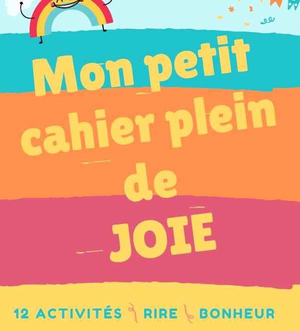 cahier enfants joie