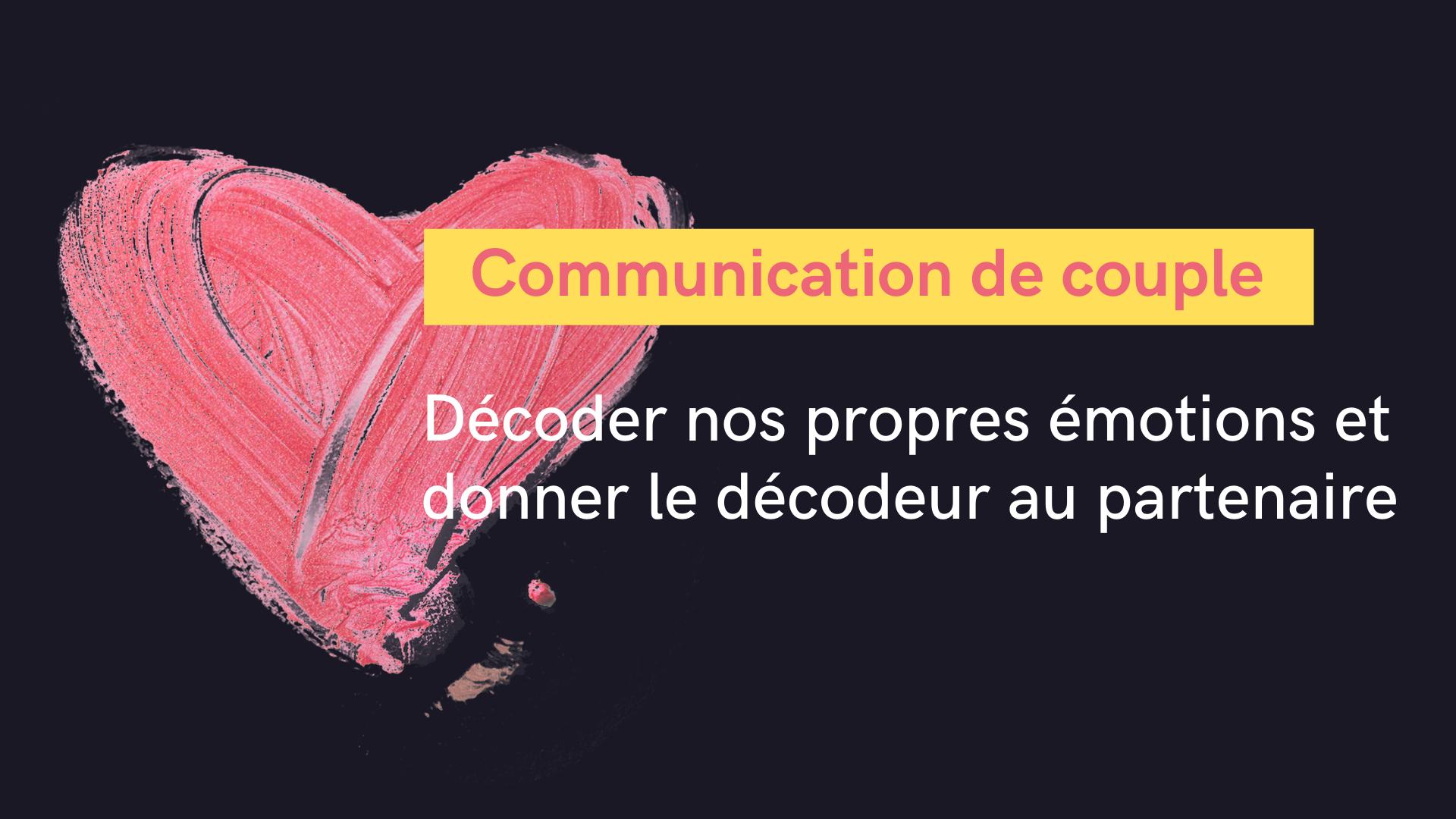 communication de couple