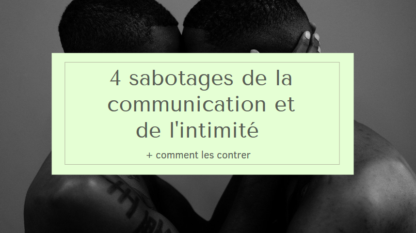 sabotage communication