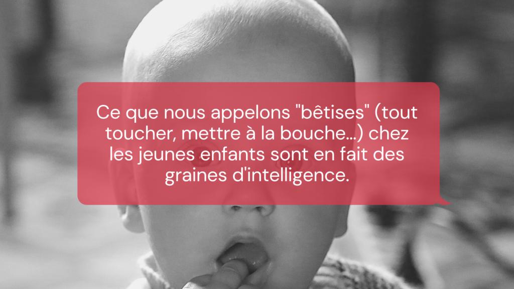 bêtise enfant intelligence