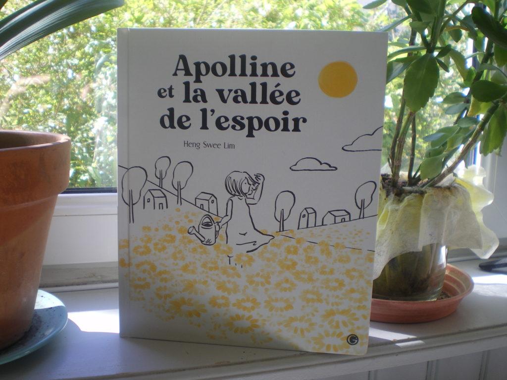 livre enfants apolline et la vallée de l'espoir