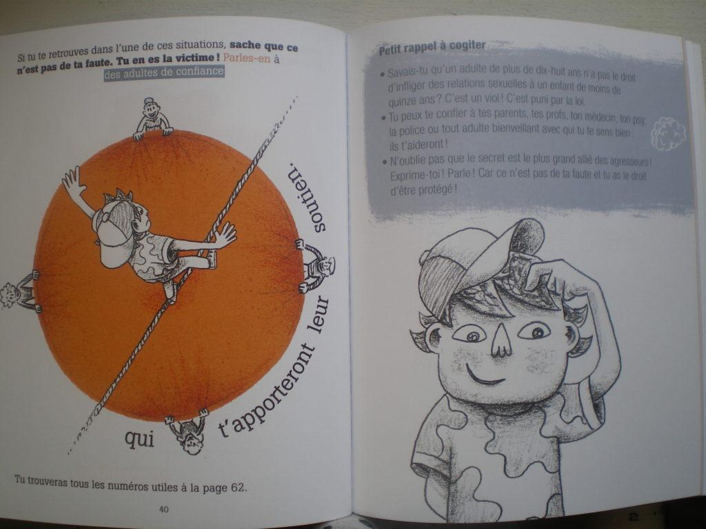 livre parler adolescents violence