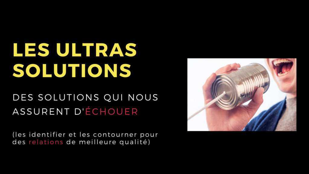 ultra solutions échouer relations