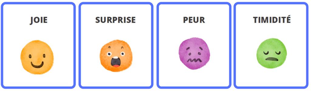 cartes jeu émotions