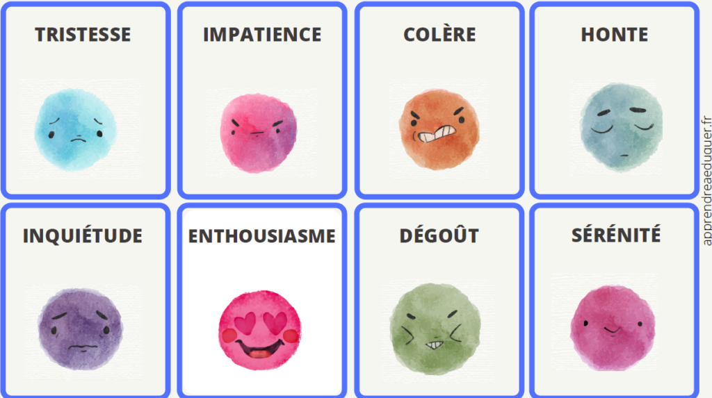 cartes times up émotions