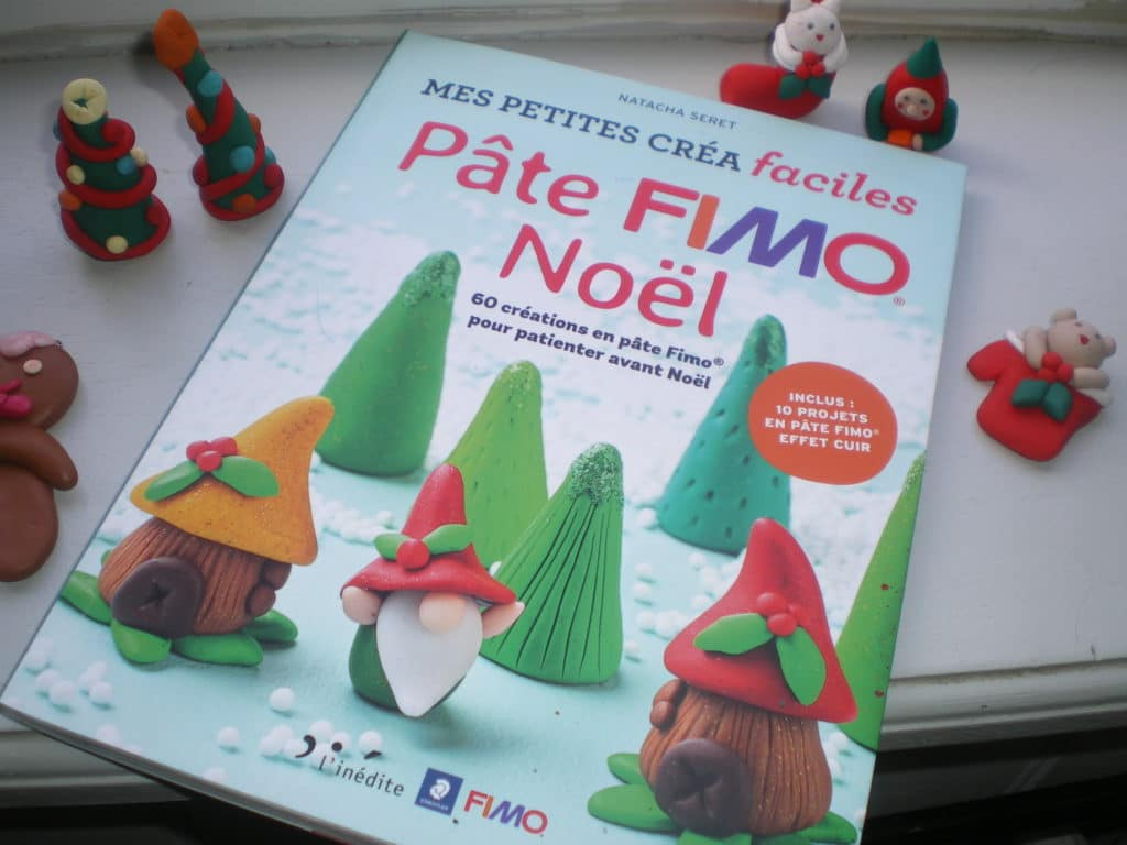 créations faciles pate fimo noel