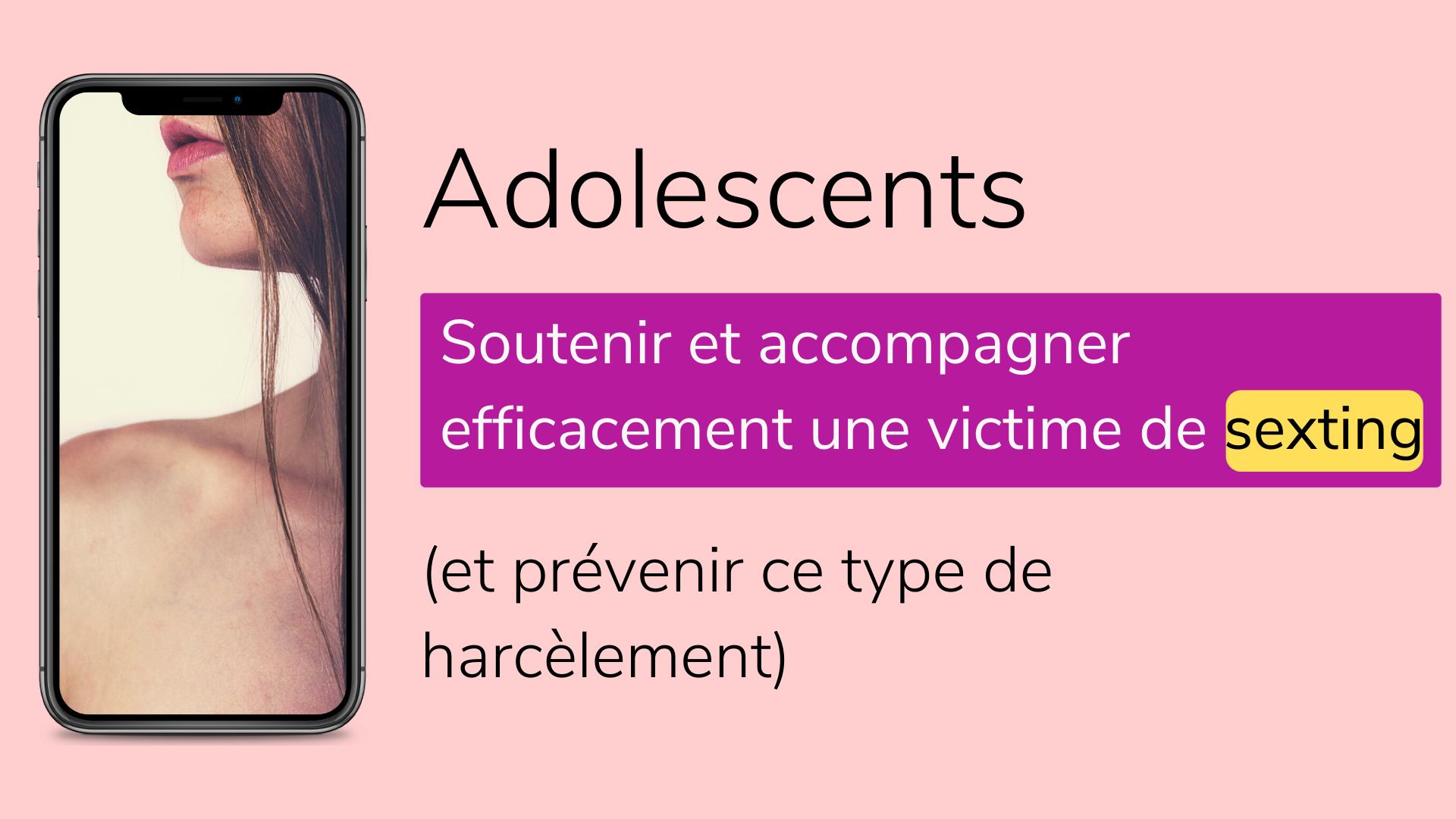 victimes de sexting