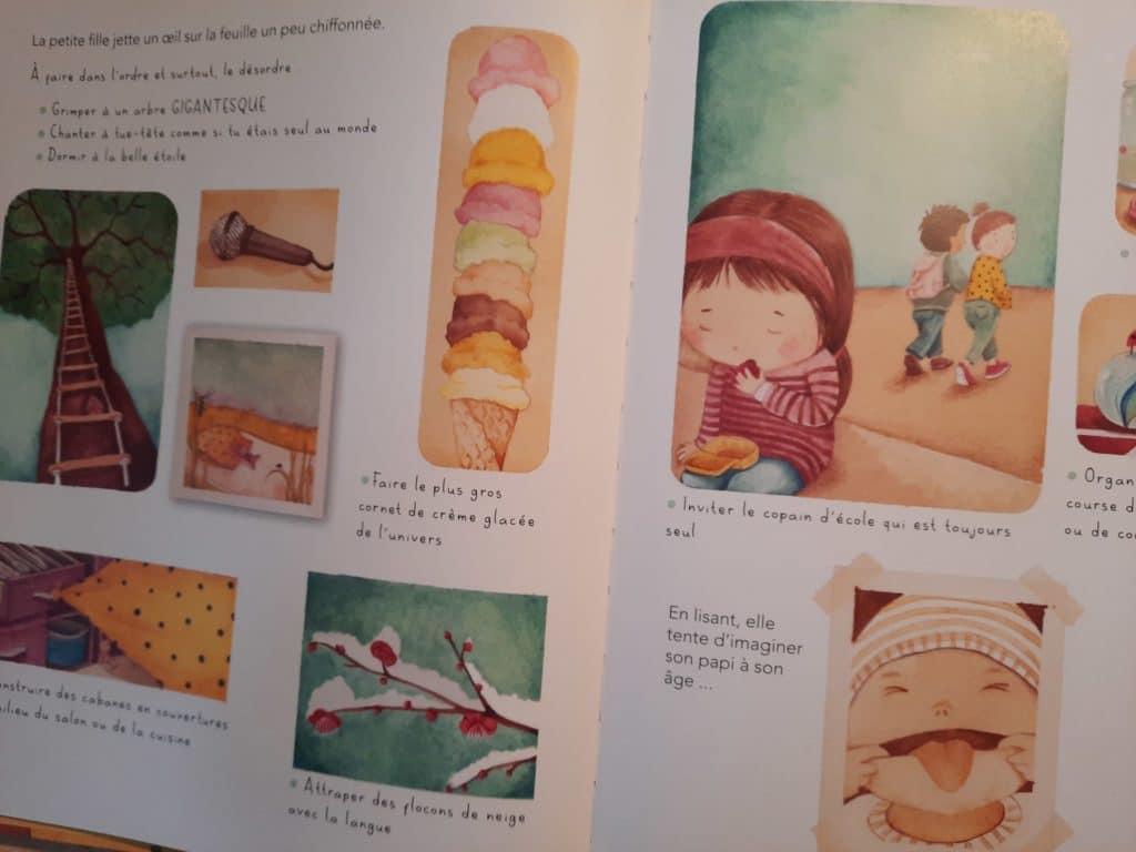 livre liste garder coeur enfant