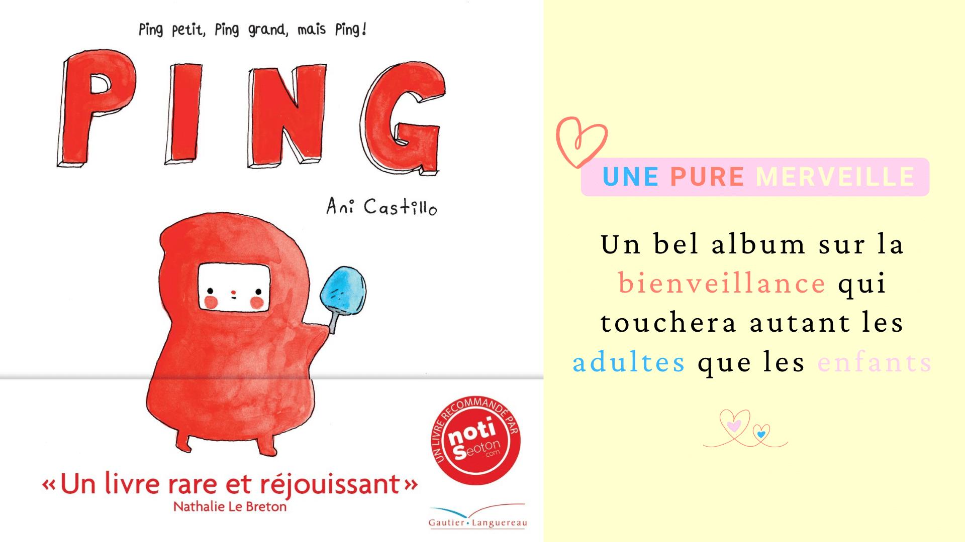 livre bienveillance enfants ping