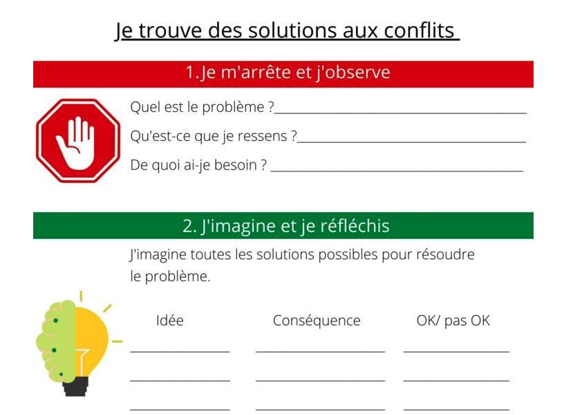 3 étapes pour aider les enfants à trouver des solutions aux conflits