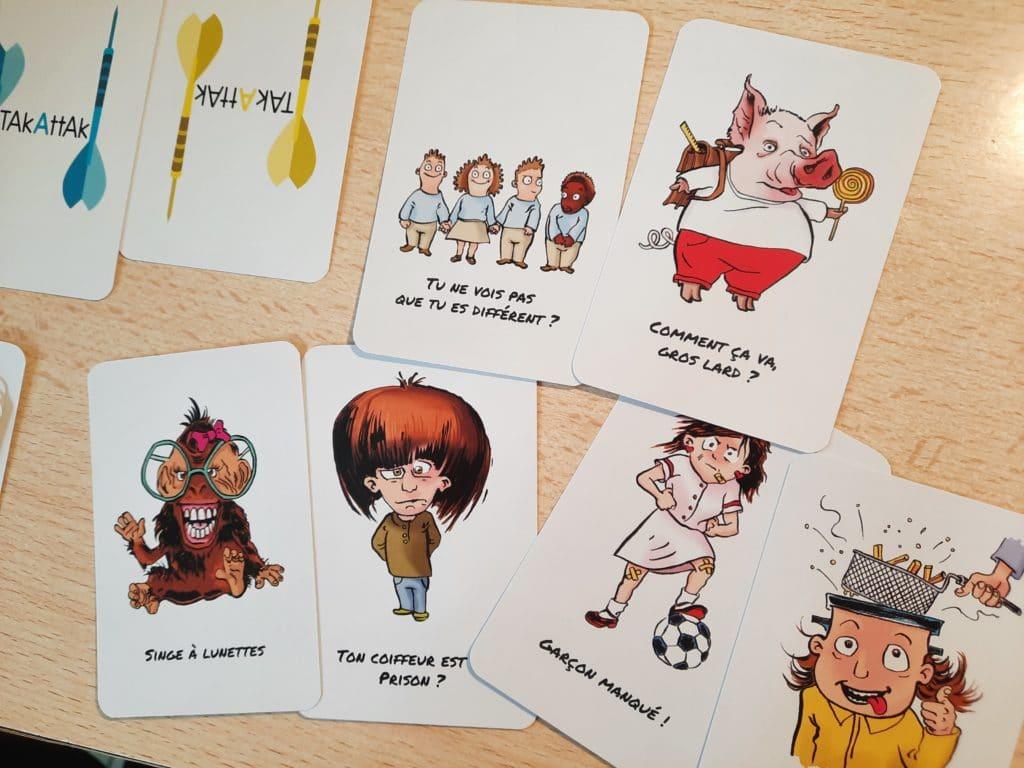 jeu cartes contre le harcèlement scolaire