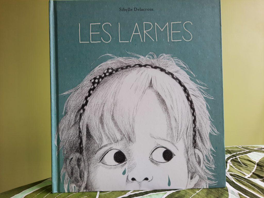 livre enfant sur les pleurs