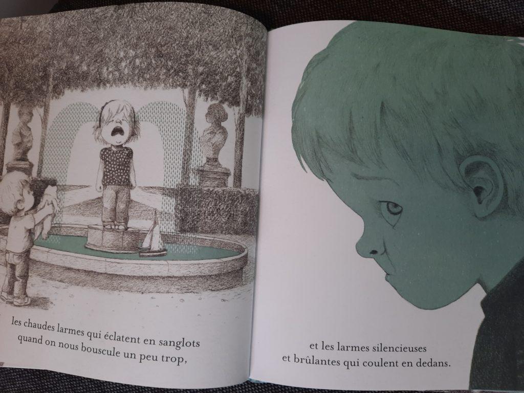 livre enfants sur les pleurs