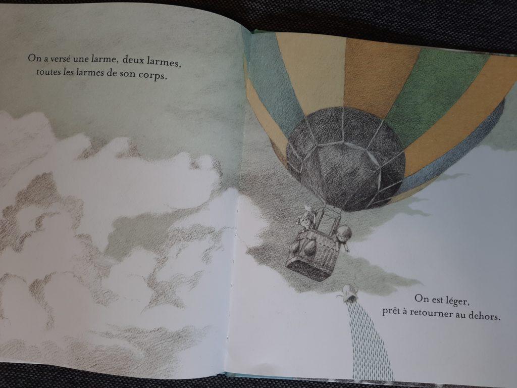 livre pour les enfants sur les pleurs