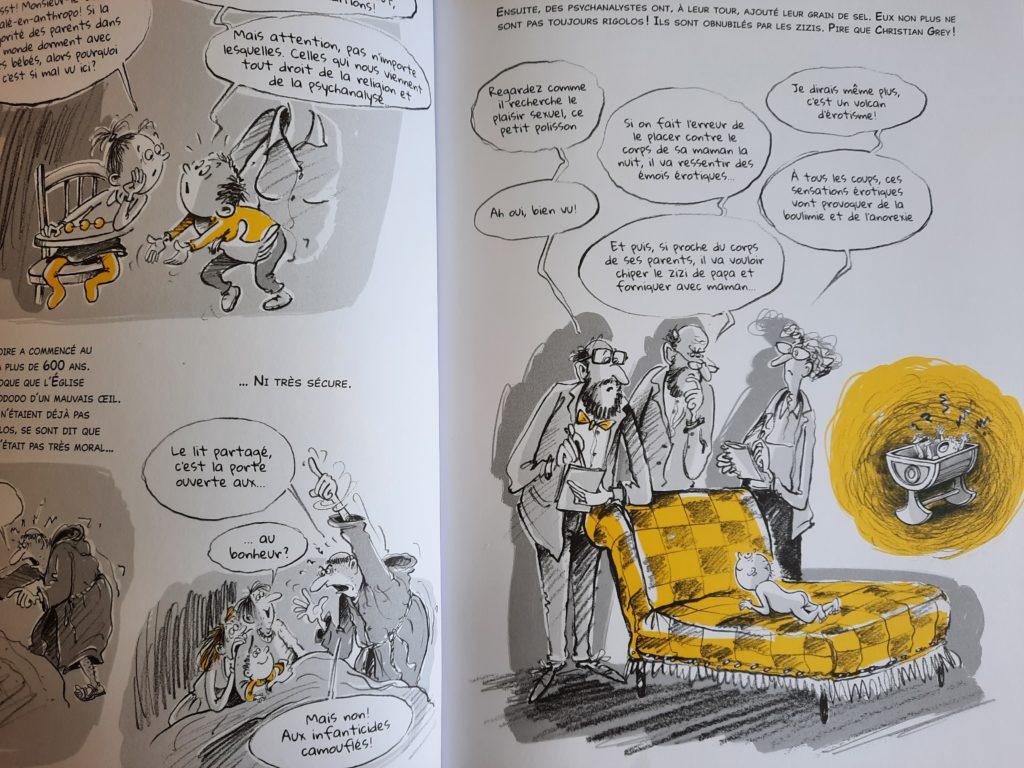 bande dessinée bébé éducation bienveillante