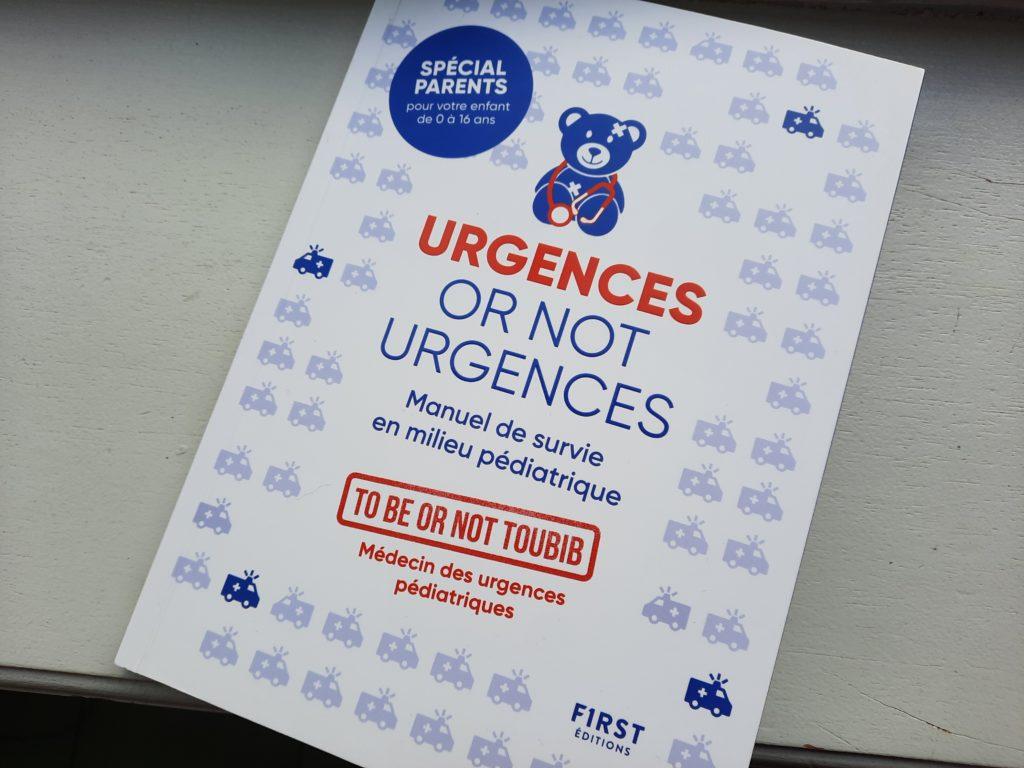 livre pour les parents urgences médicales enfants