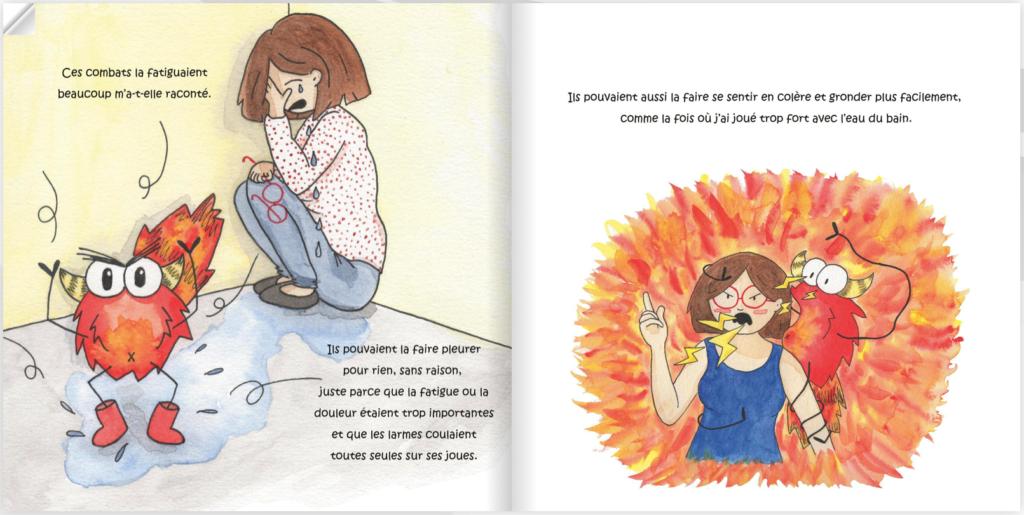 livre sur maladie chronique parents