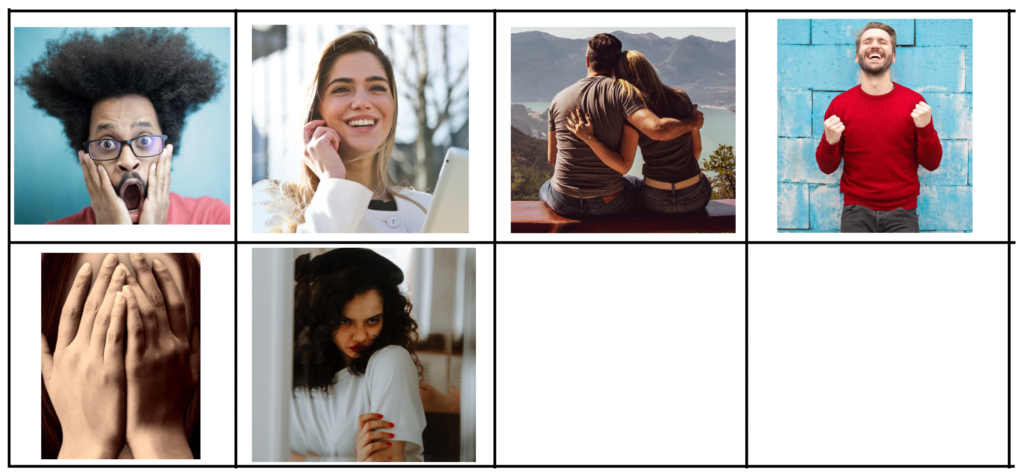 jeu carte émotions famille