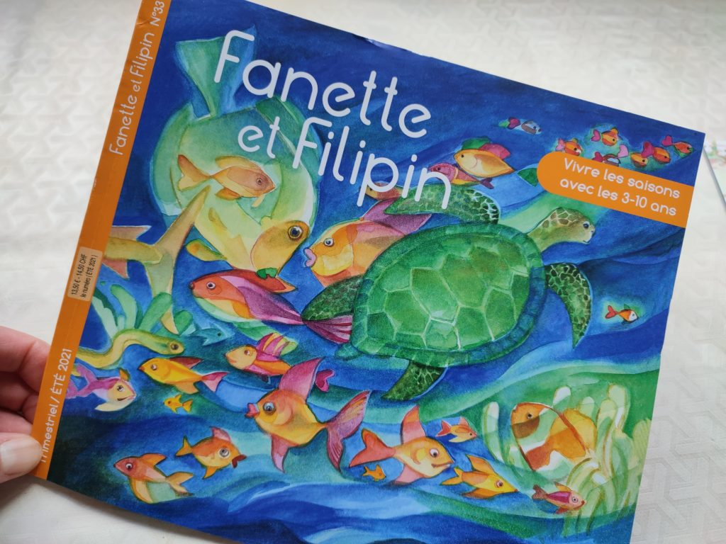 remise magazine fanette et filipin