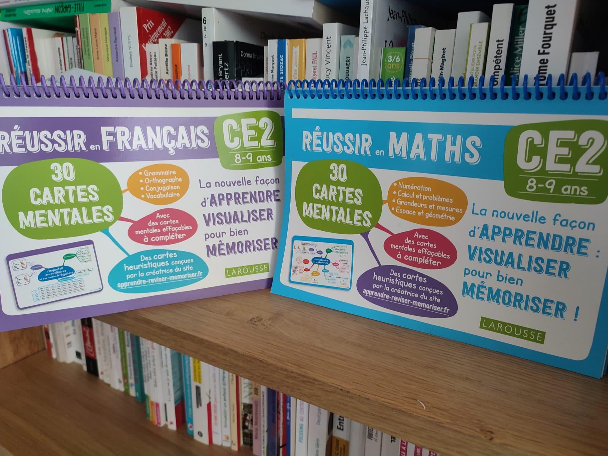 cartes mentales français mathématiques ce2